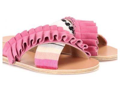Die Sommer Sandale.
