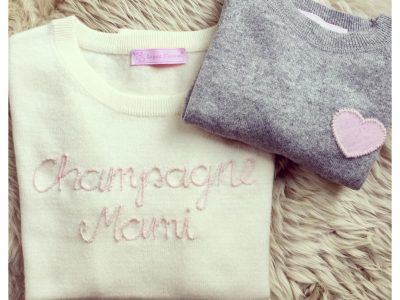 Le petit macaron- Statement Cashmere made with love.