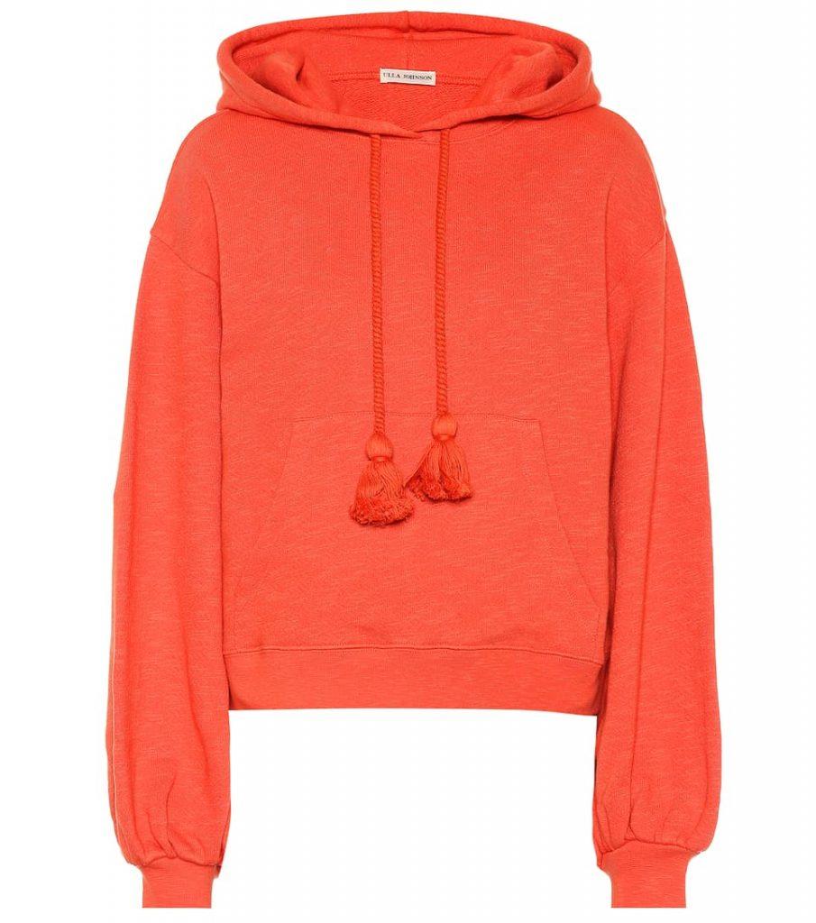 Hoodie in orange von Ulla Johnson in Orange