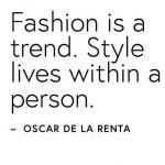 No season Fashion oder schlicht Nein zu Fast Fashion.