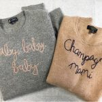 I think I love you baby, Cashmere Sweater von Lingua Franca